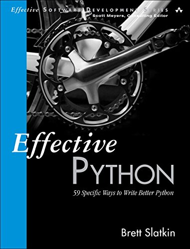 "The cover of ""Effective Python""."