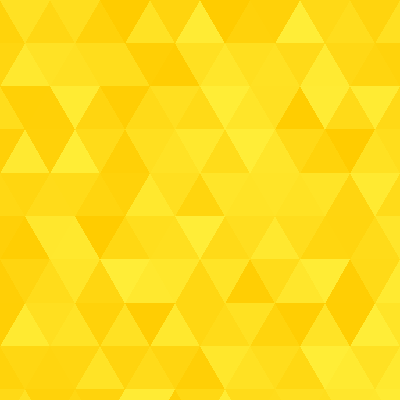 A pattern of triangles in varying shades of yellow.