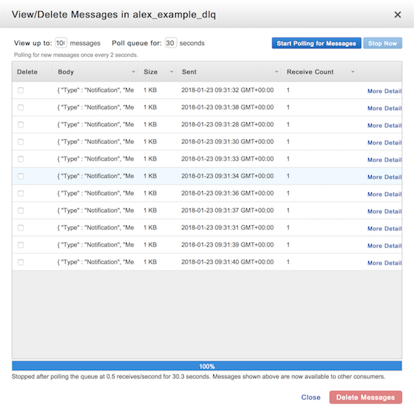 Getting every message in an SQS queue – alexwlchan