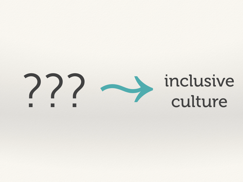 What creates an inclusive culture?